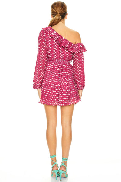 Talulah Power Of Love Mini Dress - Peach Spot