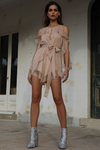 Prem the Label Cassidy Playsuit - Nude