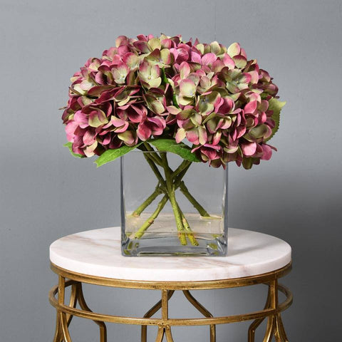 Bloomr Faux Hydrangea Arrangement Wedding Centerpiece