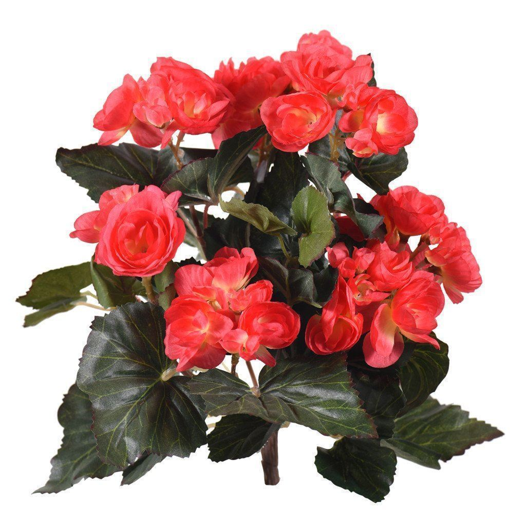 Artificial Begonia, Faux Begonia, Fake Begonia  - Bloomr