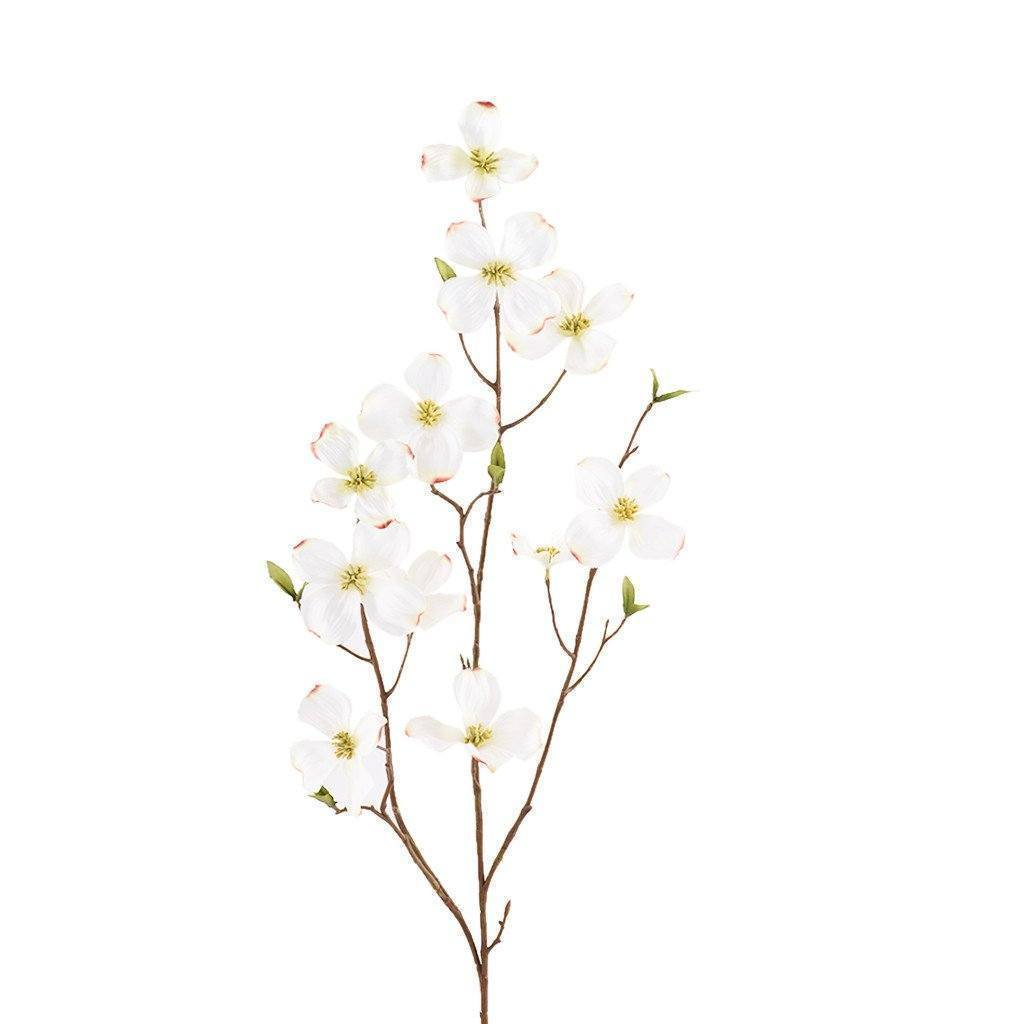 Artificial Dogwood, Faux Dogwood, Fake Dogwood  - Bloomr