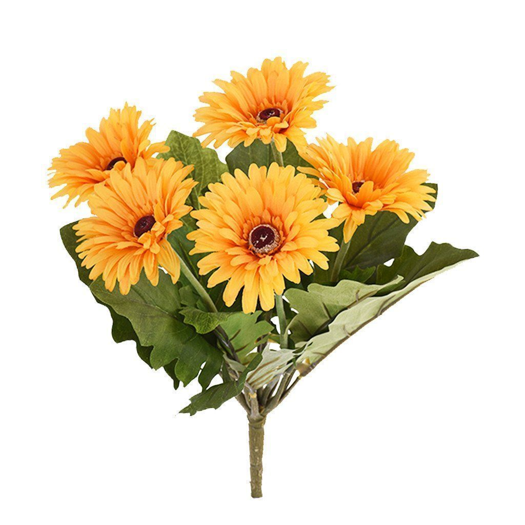 Artificial Gerbera, Faux Gerbera, Fake Gerbera  - Bloomr