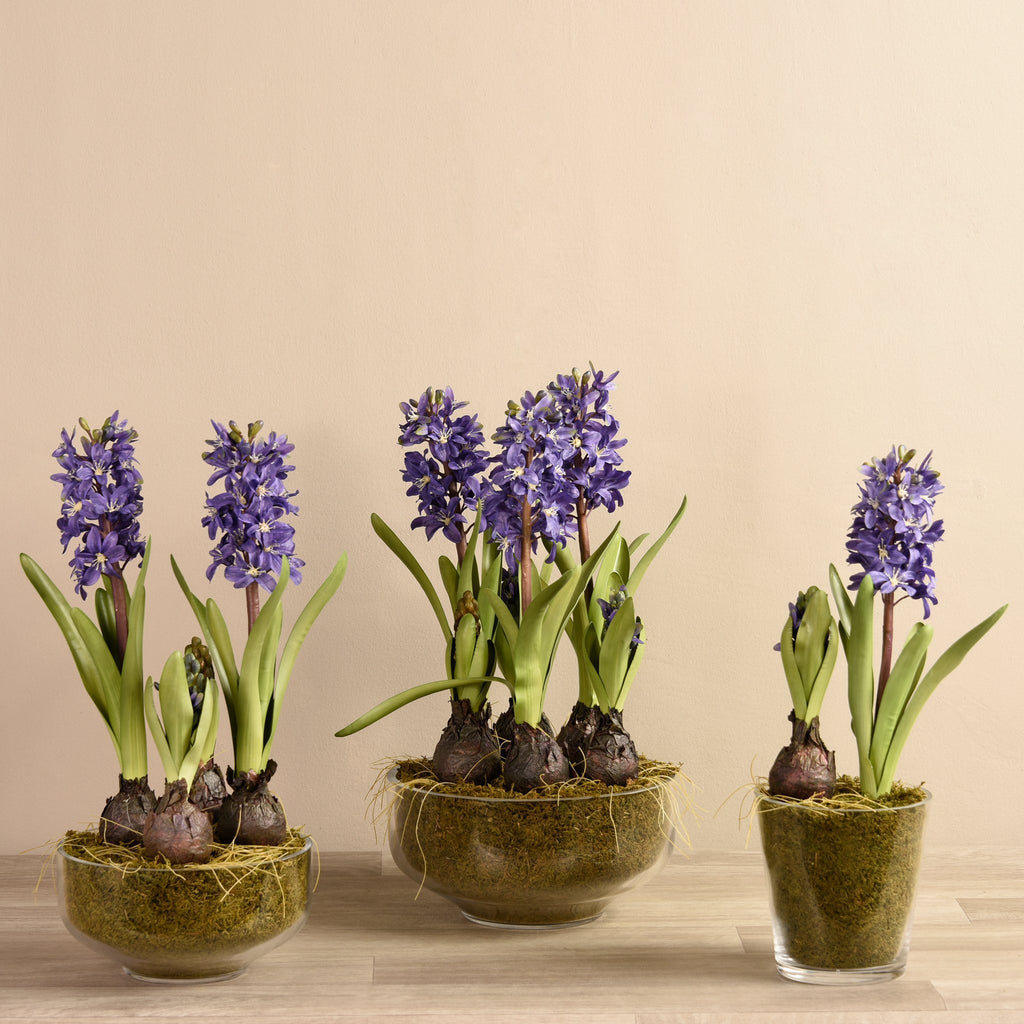 Bloomr Flowers Small / White Mediterranean Hyacinths artificial flowers artificial trees artificial plants faux florals
