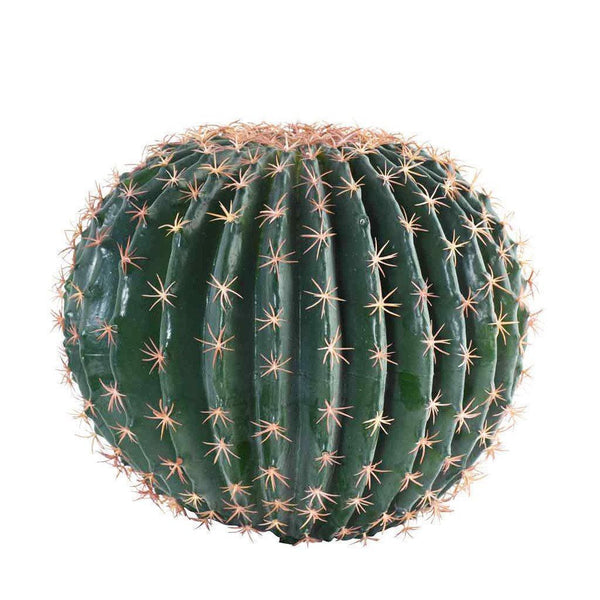 Bloomr Greenery Large Barrel Cactus artificial flowers artificial trees artificial plants faux florals