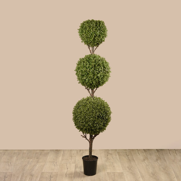 Bloomr Greenery Large Boxwood Ball Tree artificial flowers artificial trees artificial plants faux florals