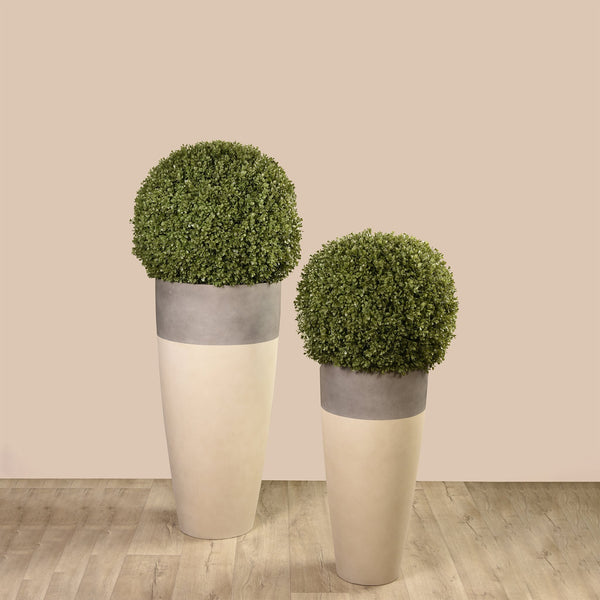 Artificial Boxwood Ball, Faux Boxwood Ball, Fake Boxwood Ball  - Bloomr