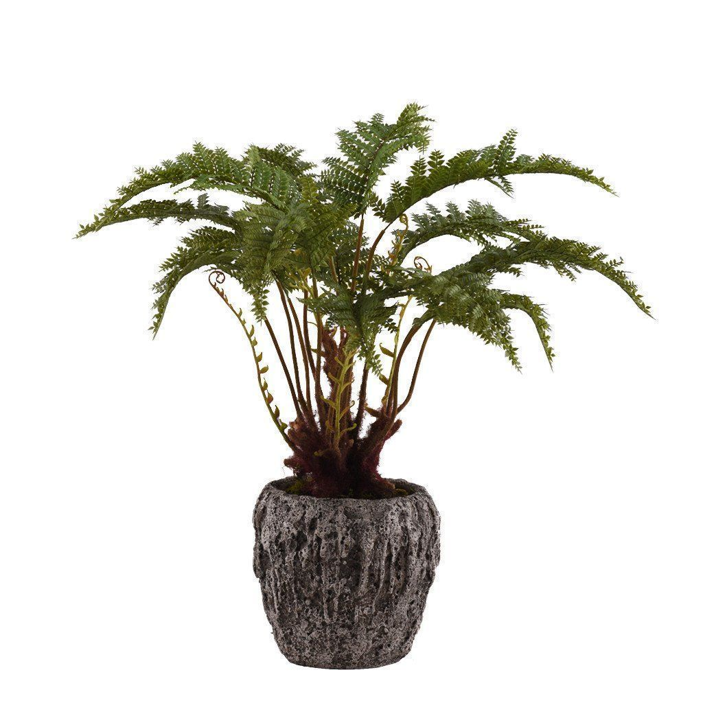 Bloomr Greenery Medium Potted Fern artificial flowers artificial trees artificial plants faux florals