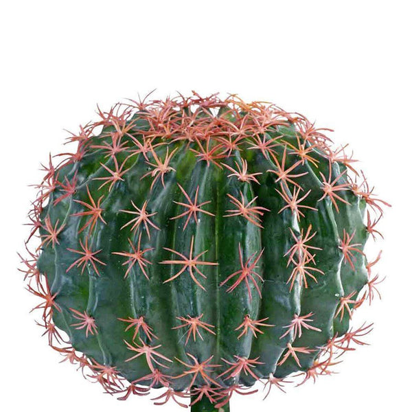 Bloomr Greenery Small Barrel Cactus artificial flowers artificial trees artificial plants faux florals