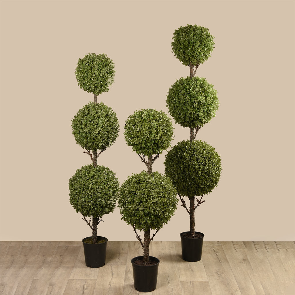 Bloomr Greenery Small Boxwood Ball Tree artificial flowers artificial trees artificial plants faux florals