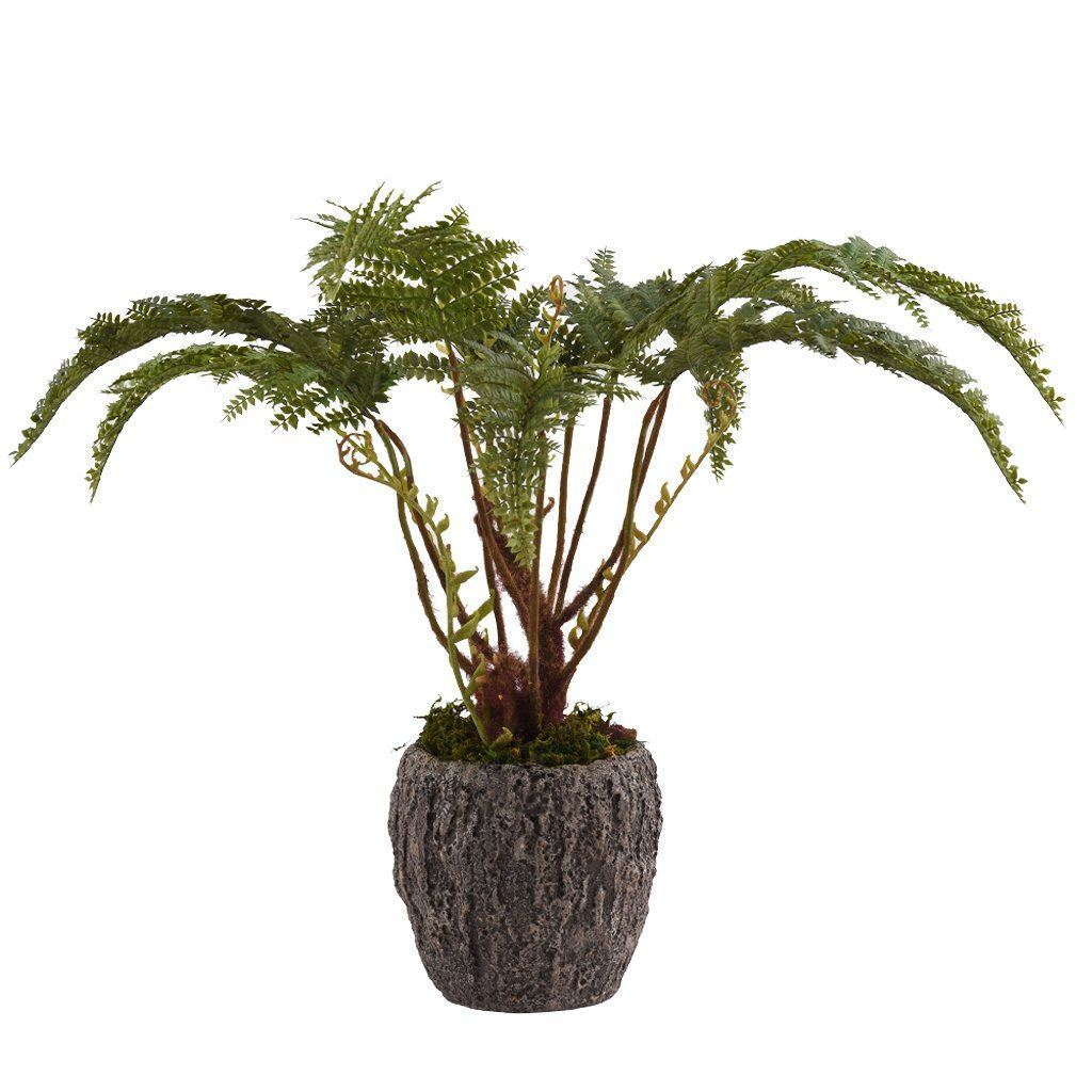 Bloomr Greenery Small Potted Fern artificial flowers artificial trees artificial plants faux florals