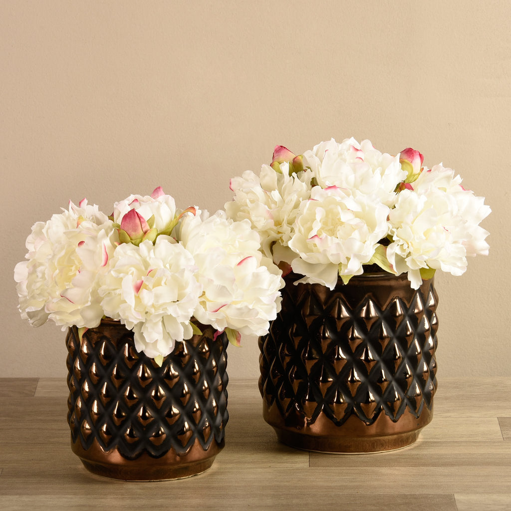 Bloomr-USA Flowers Peony Arrangement artificial flowers artificial trees artificial plants faux florals