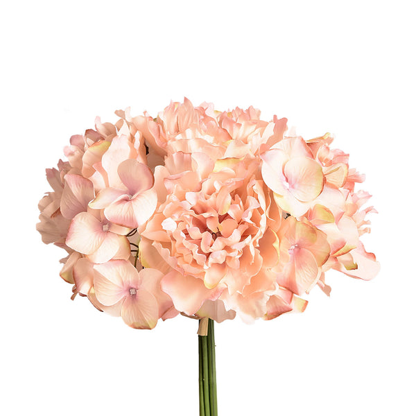 Bloomr-USA Flowers Peony & Hydrangea Bouquet artificial flowers artificial trees artificial plants faux florals