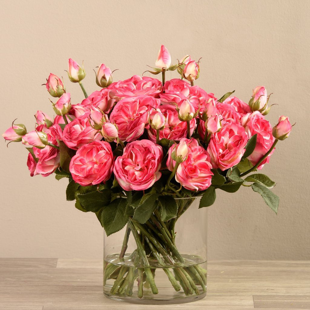 Bloomr-USA Flowers Rose Arrangement artificial flowers artificial trees artificial plants faux florals