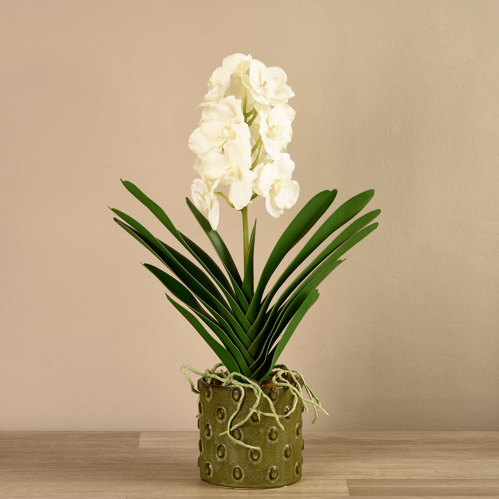 Bloomr-USA Flowers Small Vanda Arrangement artificial flowers artificial trees artificial plants faux florals