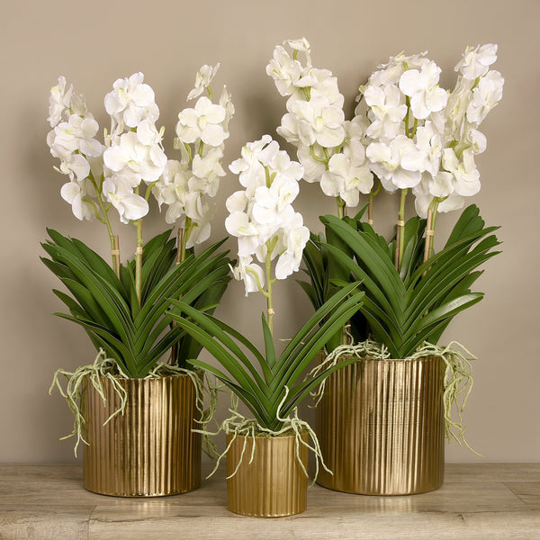 Bloomr-USA Flowers Vanda Arrangement artificial flowers artificial trees artificial plants faux florals