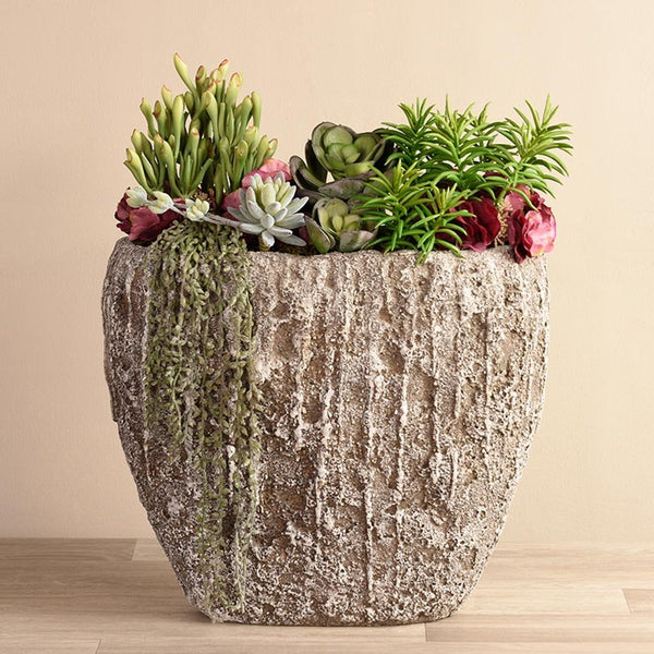 bloomr-usa Greenery Peruvian Succulent Arrangement artificial flowers artificial trees artificial plants faux florals