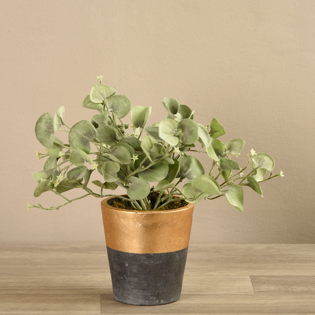 Bloomr-USA Plants Medium Potted Silver Fall Plant artificial flowers artificial trees artificial plants faux florals