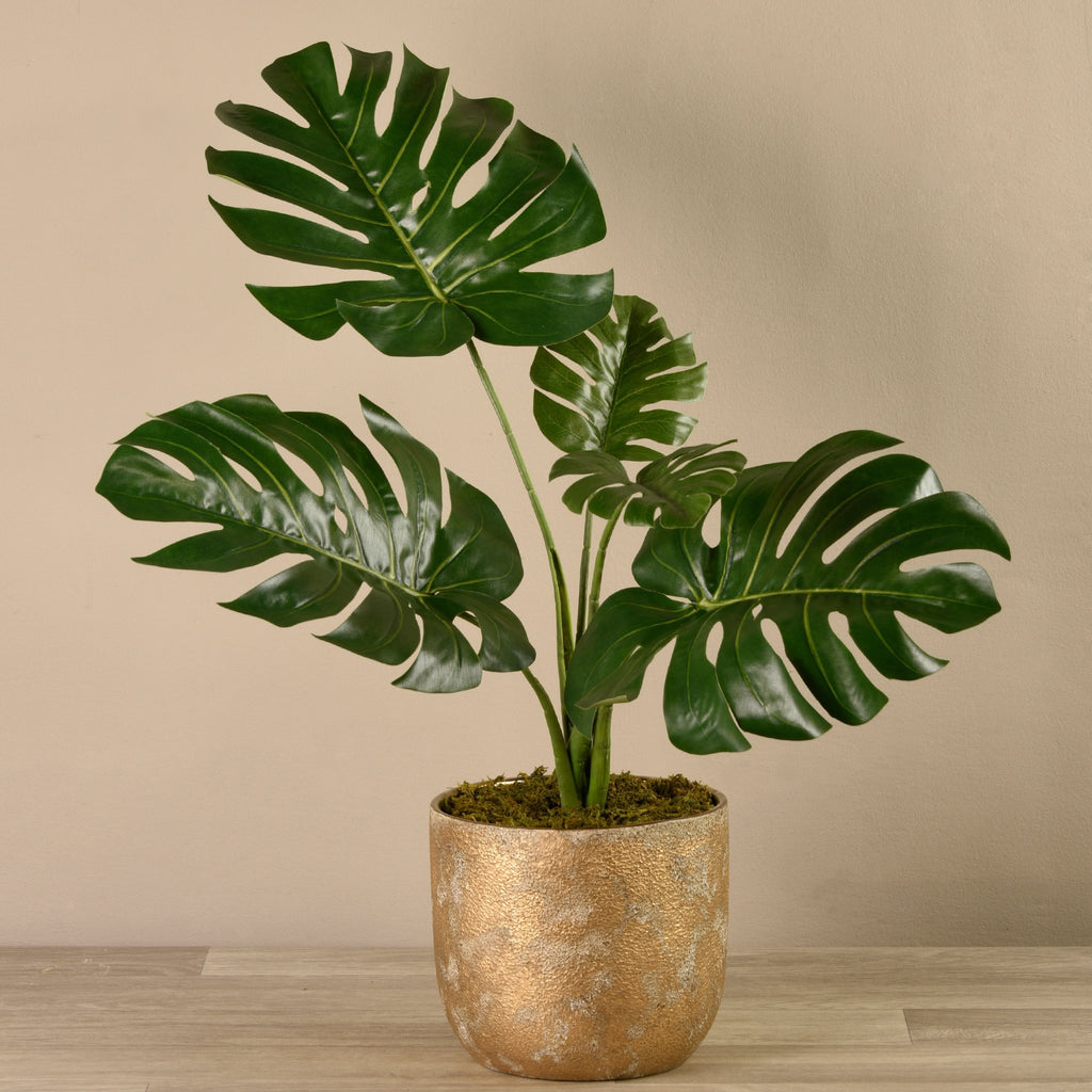 Bloomr-USA Plants Potted Monstera Plant artificial flowers artificial trees artificial plants faux florals
