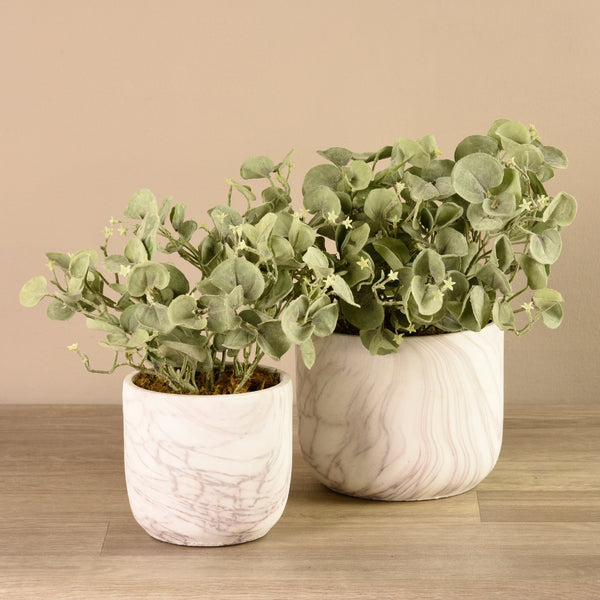 Bloomr-USA Plants Potted Silver Fall artificial flowers artificial trees artificial plants faux florals