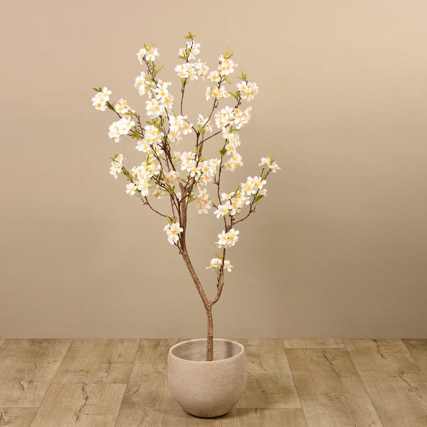 Artificial Apple Blossom Tree, Faux Apple Blossom Tree, Fake Apple Blossom Tree  - Bloomr