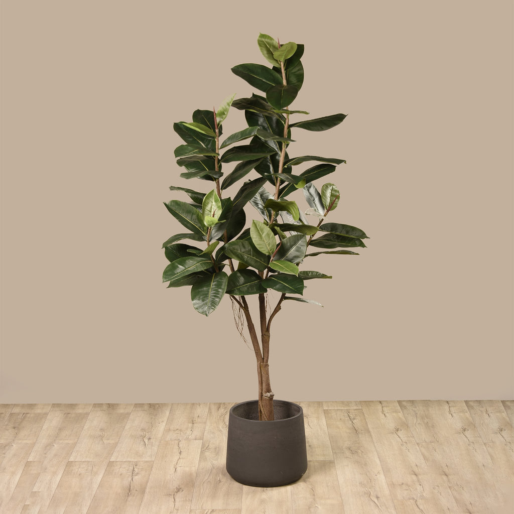 bloomr-usa Trees Rubber Plant artificial flowers artificial trees artificial plants faux florals