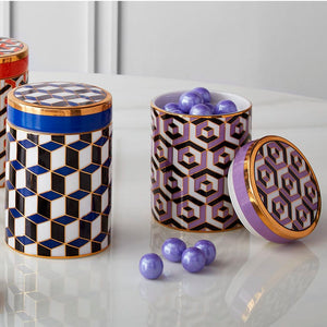Versailles Canister Purple