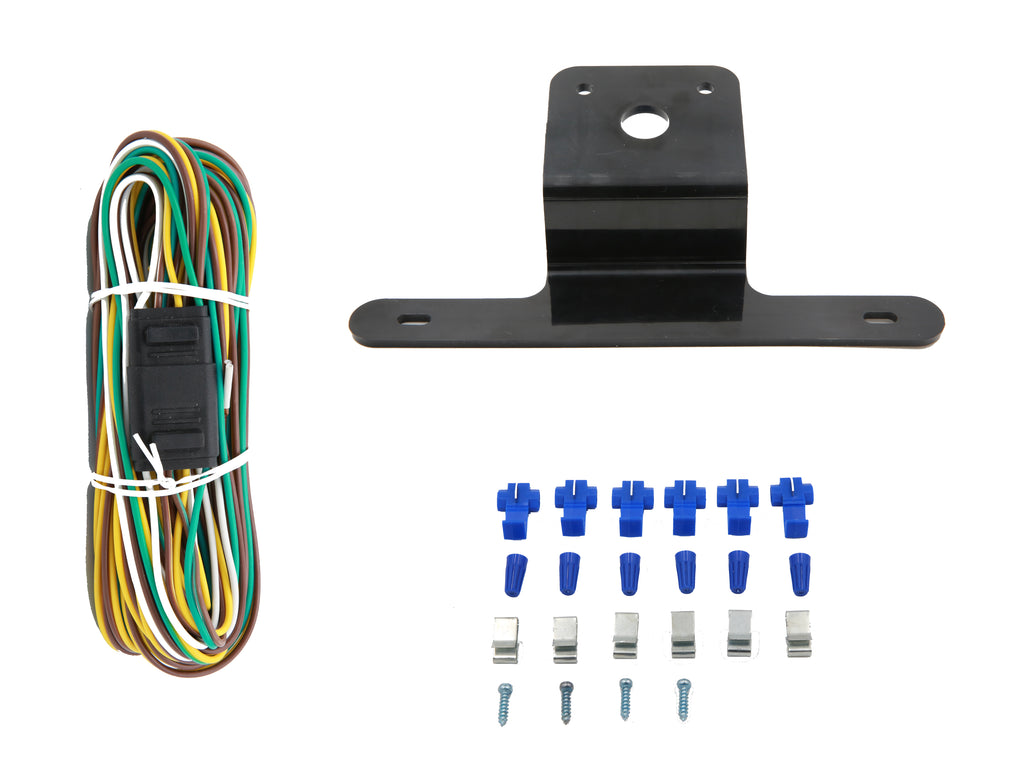 Peaktow Deluxe 12v Led Submersible Trailer Light Kit Stop Turn Tail Lights 4 Wire Wiring Harness