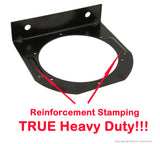 "PEAKTOW PTL0502 Round 4"" Tail Light Mounting Bracket For Standard D.O.T 4"" Round Trailer Taillights– 2PK"