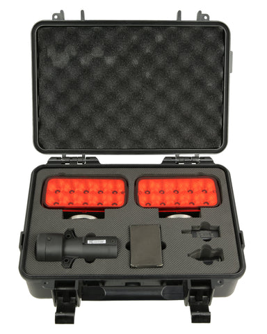PEAKTOW PTL0104 LED 2.4GHz Wireless Tow Light With 6000mAh Rechargeable Battery Strong Magnetic Base Plastic Case