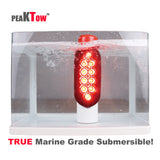 PEAKTOW PTL0441 Boat Trailer Guide-on Post Pipe Guide Light Set LED Submersible DOT EZ Install