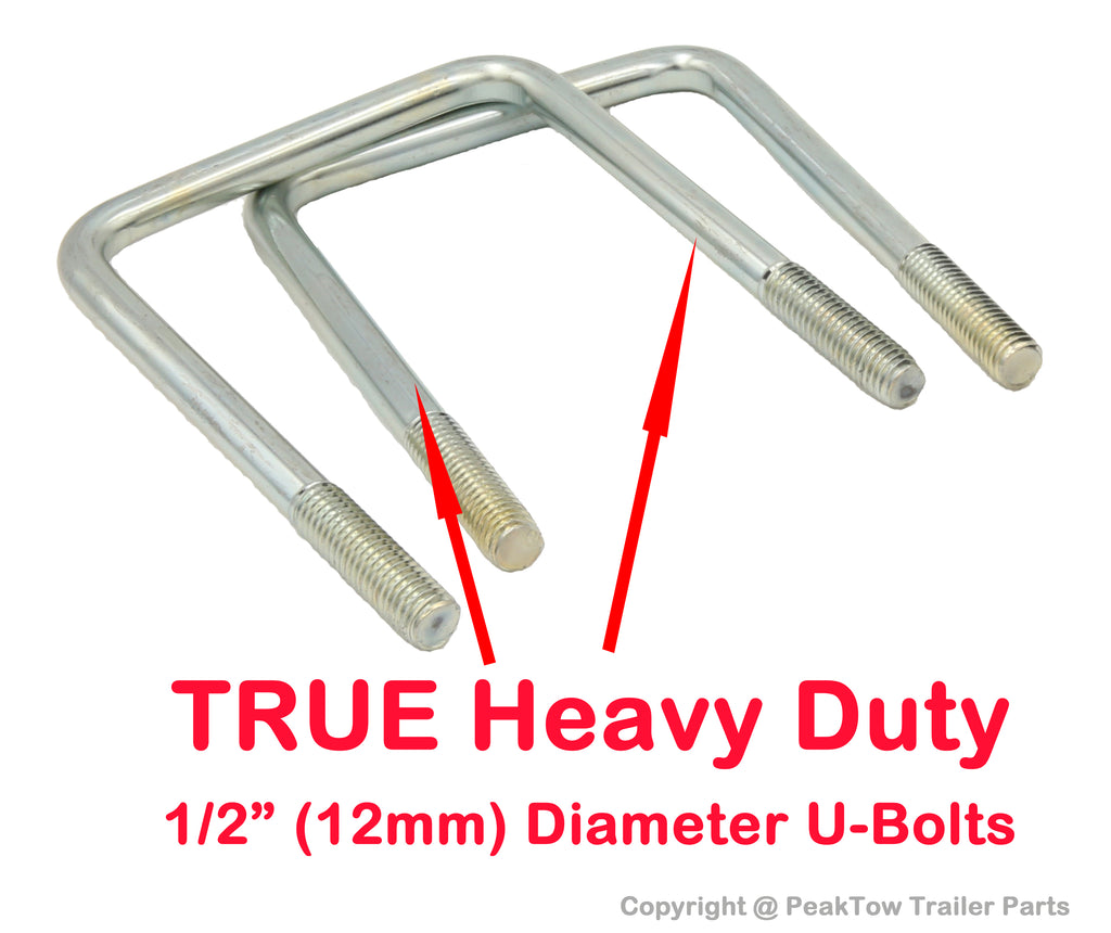 PEAKTOW Deluxe 2 Inches RV Bumper Receiver Adapter for Bike Rack and Other Accessories