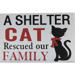 Shelter Cat Sign