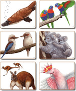 Aussie Animals Placemats and Coasters
