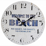 Welcome to the beach clock