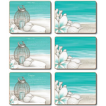 Beach Lantern Placemats and Coasters