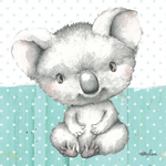 Baby Joeys KOALA Canvas 20x20 Kelly Lane