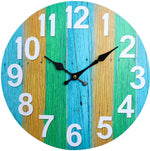 Clock Boardwalk Tri Colour