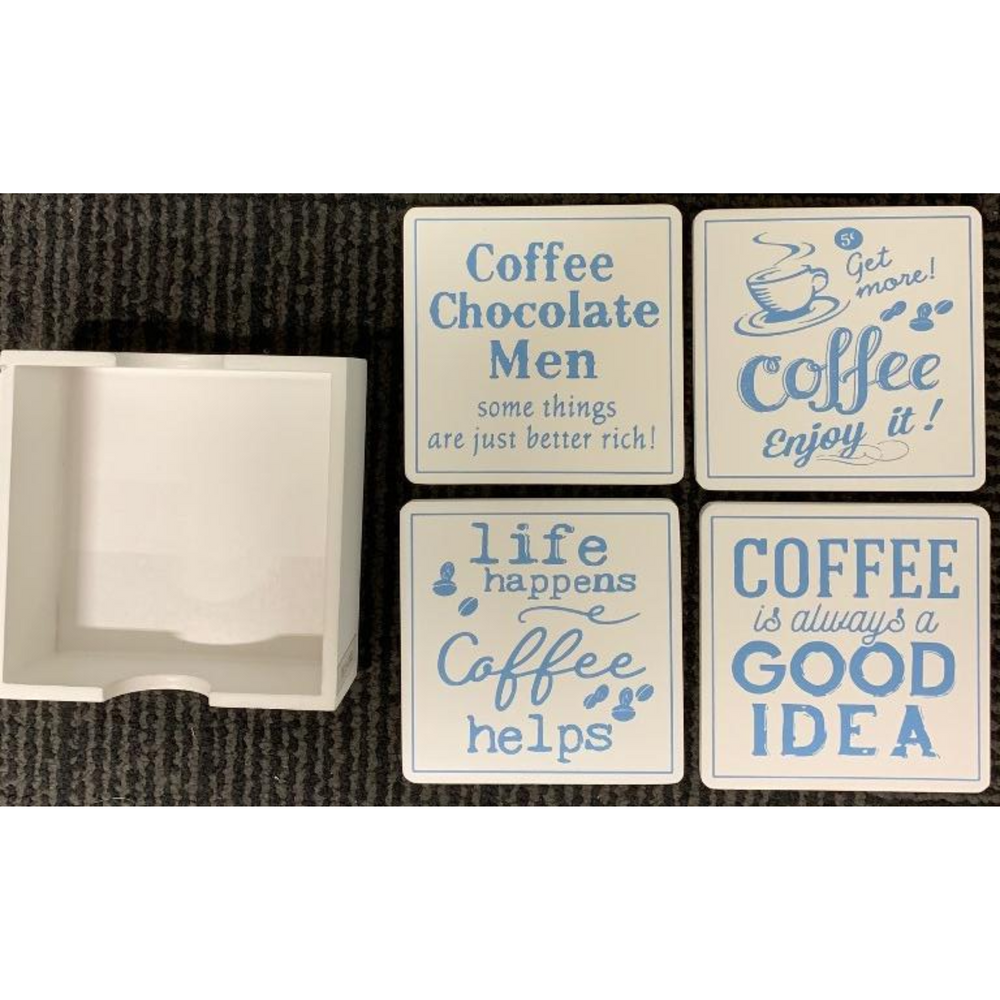 Coffee Coasters Set of 4