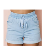 Country Denim jogger shorts