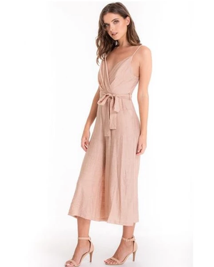 Stylestate Cropped Jumpsuit With Pleat Details