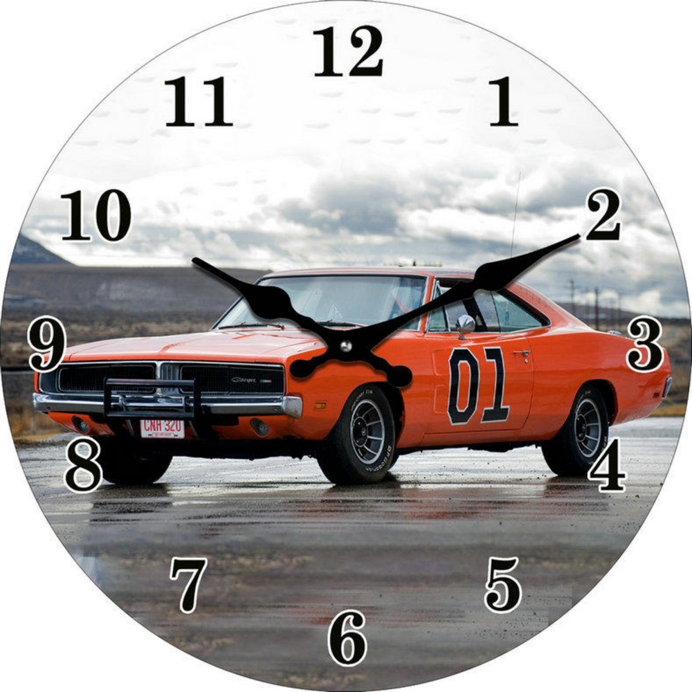 Clock Dodge Charger 30cm