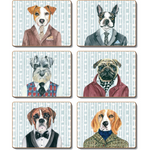 Dogs Dinner Placemats and Coasters