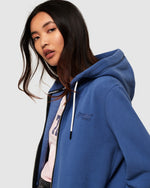 Ziphood Super Dry Denim Blue Hoodie