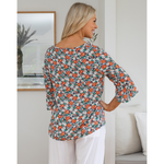 Bliss Top Floral Print