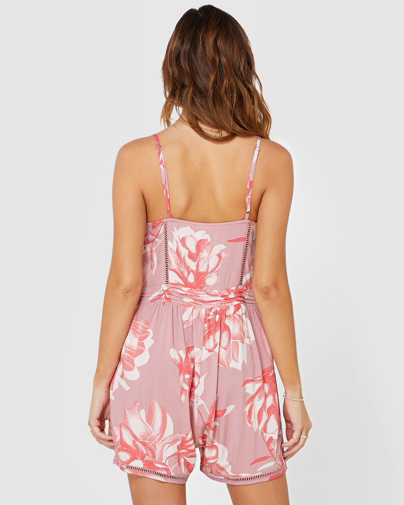Holly Pink Floral Jumpsuit  | Brecha Jumpsuit