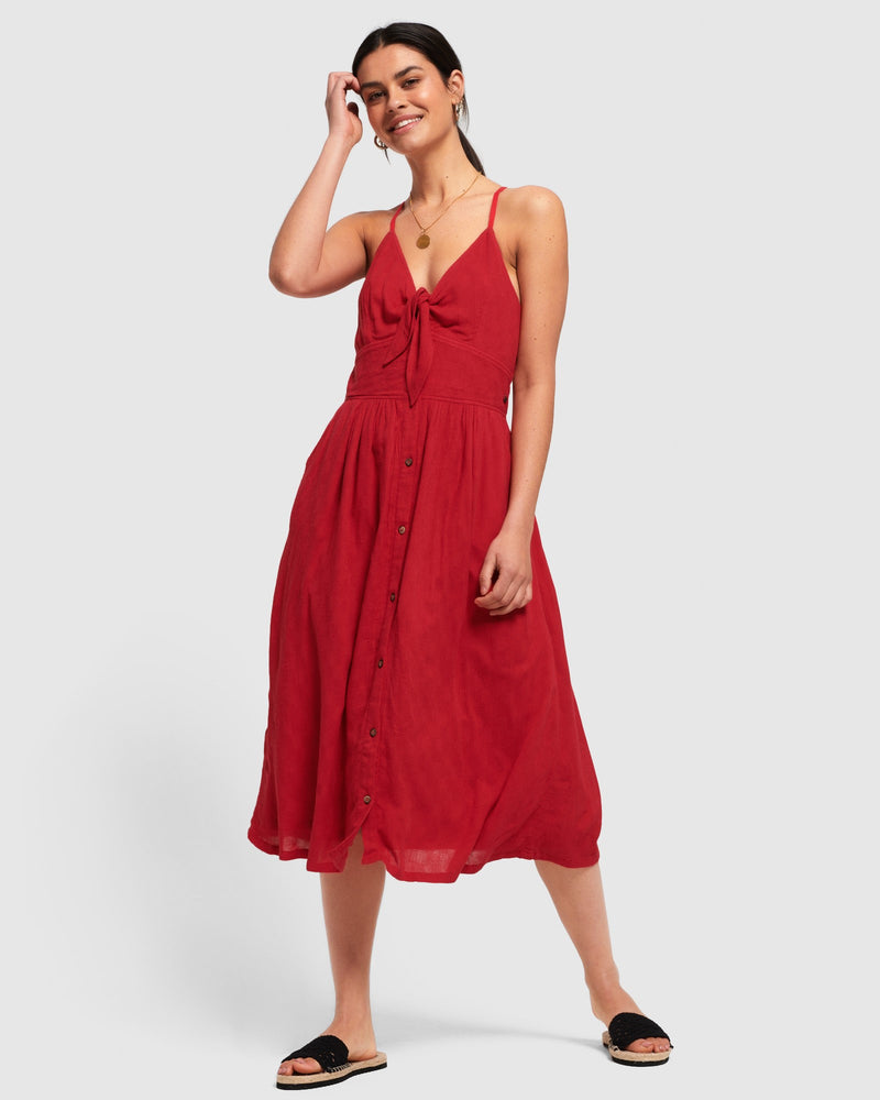 Jayde Tie Front Dress Superdry