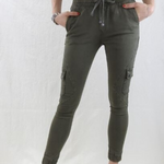 Country Denim Cargo Jogger Pants