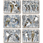 Kookaburra Laugh Placemats and Coasters