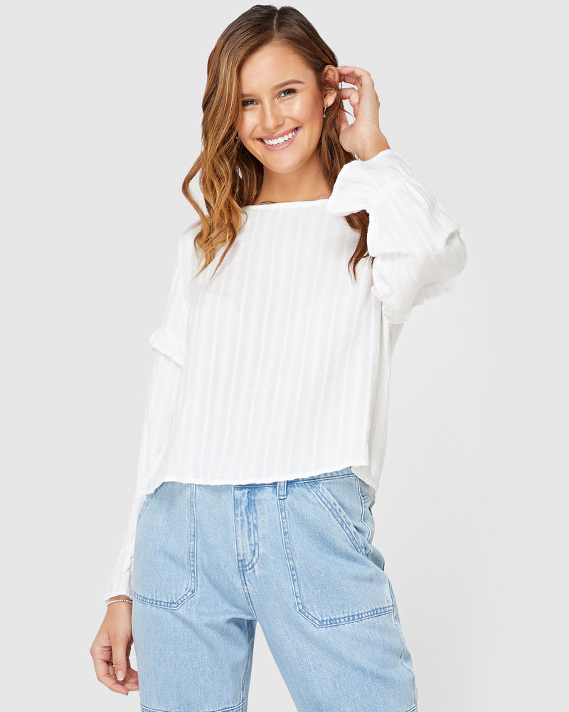 Molly Long Sleeve Top Elwood