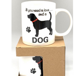 Mug All you need is love and a dog